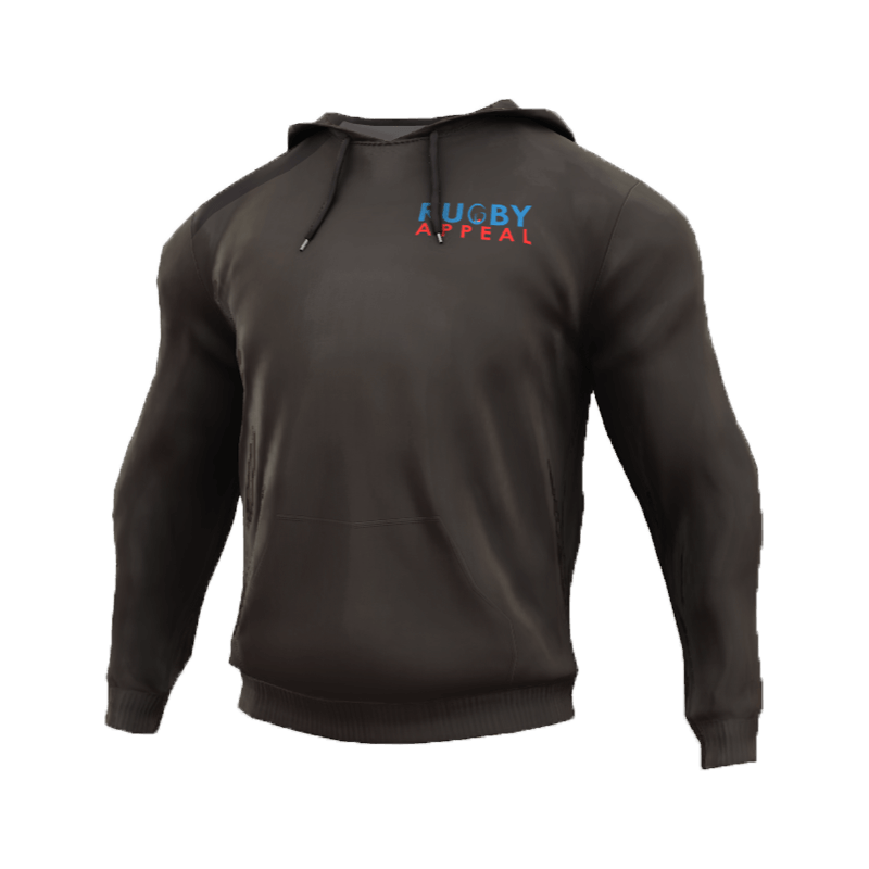 Rugby Appeal Hoodie 3D Front